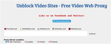 youtube proxy sites  unblock youtube