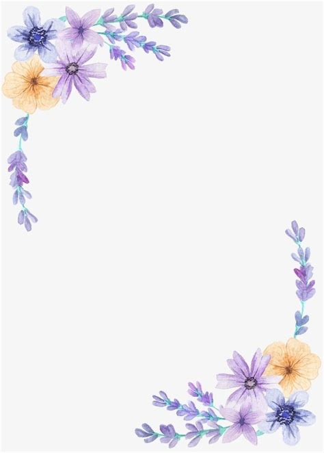 pin  abii  letter template flower png images floral