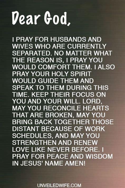 prayer comfort  separation prayer   day