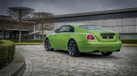 java green rolls royce black badge wraith  sale