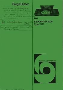 Bang Olufsen Beocenter 2000 Sch2 Service Manual Download