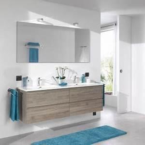 best salle de bain turquoise et bois gallery amazing With meuble de salle de bain bois brut