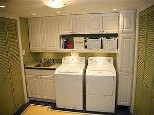 Ideas laundry room ideas small space laundry room for Laundry room design ideas photos