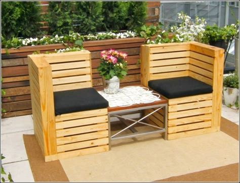 cool diy outdoor furniture   pallet