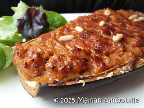 cuisine libanaise aubergine aubergine farcie maman tambouille