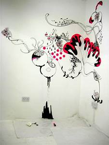 Diy ideas creative wall arts to decorate your house for Wall painting designs