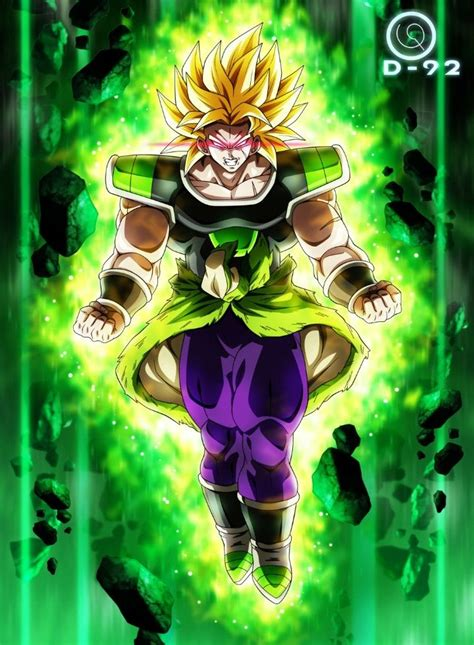 broly dragon ball super personajes de dragon ball