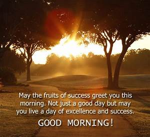 fruits of success free morning ecards greeting