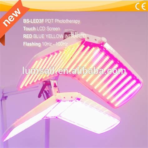 led red light therapy spider veins anti wrinkle machine red blue yellow led light therapy