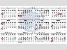 Desde Rubio – Calendario Bancario y Feriado Nacional 2017
