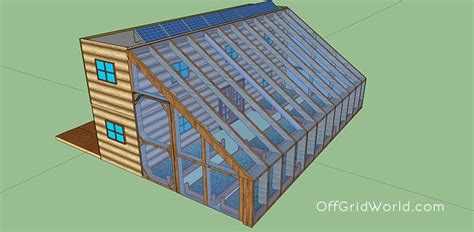 design wohncontainer 640sqft solar powered shipping container cabin with greenhouse for 25k grid world