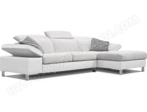 canapé blanc gris photos canapé gris et blanc pas cher