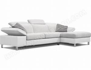 photos canape gris et blanc pas cher With canapé blanc pas cher