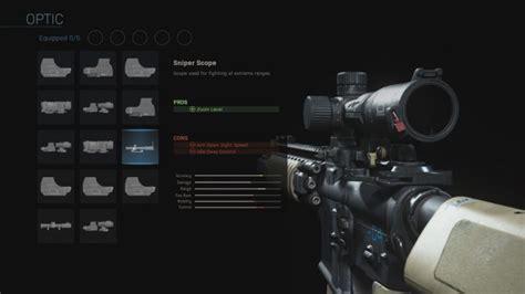 warfare duty call modern attachments sniper gunsmith warzone optic loadouts cod sight loadout aim scopes use scope advanced optics down
