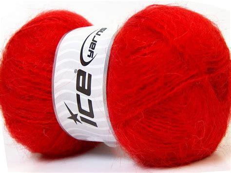 Mohair, sarkans, 100g - Mohēra - Dzijas, adāmadatu ...