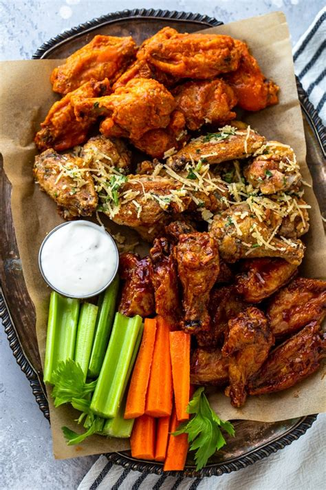 wings chicken fryer air crispy ways sides delicious recipes frying cooking eating garlic grilled without fast healthy keto things gimmedelicious