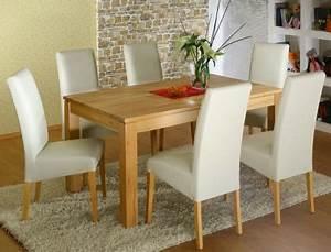Esstisch Stühle Beige : tischgruppe kernbuche tisch tobiah 140 220 x90 6 st hle robin beige kaufen bei vbbv gmbh ~ Markanthonyermac.com Haus und Dekorationen