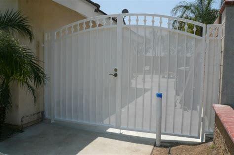 driveway  rv gates black hawk iron