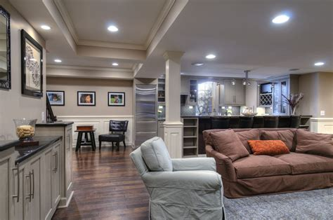 elegant finished basement dave fox