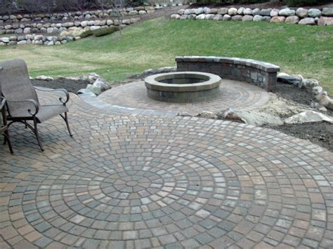 outdoor cozy sted concrete vs pavers for modern