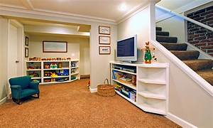 basement finishing projects high tech renovation With finished basement ideas on a budget