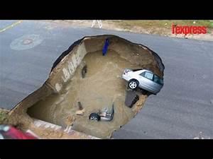 Ceder Une Voiture : san antonio deux voitures englouties dans une doline youtube ~ Gottalentnigeria.com Avis de Voitures