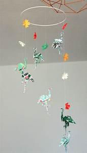 Mobile Basteln Origami : 25 b sta origami mobile id erna p pinterest origami ~ Orissabook.com Haus und Dekorationen