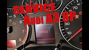 Reset Service Audi A3 8p Step By Step