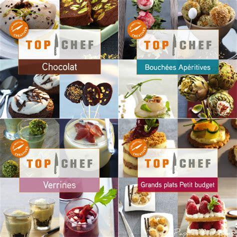 livre de cuisine top chef recettes top chef