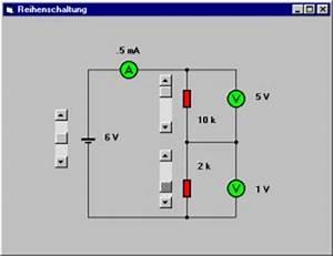Widerstand In Reihe Berechnen : elektronik grundlagen reihenschaltung ~ Themetempest.com Abrechnung