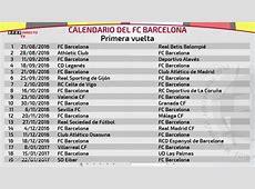 Calendario liga santander 2017 2019 2018 Calendar