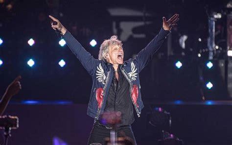 World Renowned Rock Band Bon Jovi Performed Front