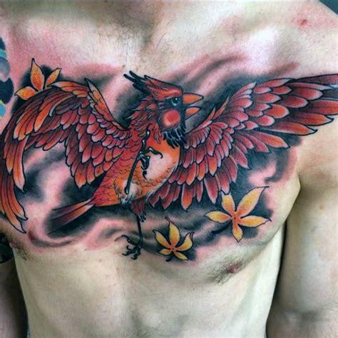cardinal tattoo designs  men bird ink ideas