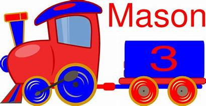 Train Clip Clipart Cartoon Loco Toy Cliparts