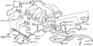 Infiniti Jx35 Vacuum Line  Piping  Evap  Canister