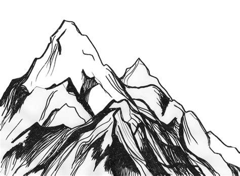 Mountains Sketch Tumblr Ecosia