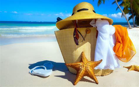 Beach Vacation Widescreen Wallpaper 50437 3840x2400px