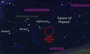 Find The Andromeda Galaxy In The Late Summer Sky