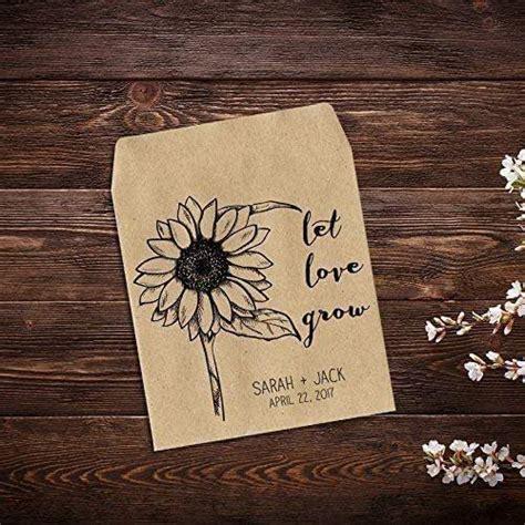 amazoncom personalized wedding favor wildflower seed