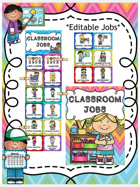 classroom chart editable file included pre k 922 | 08a6b5c23baf28f2b3931fb80f466c67