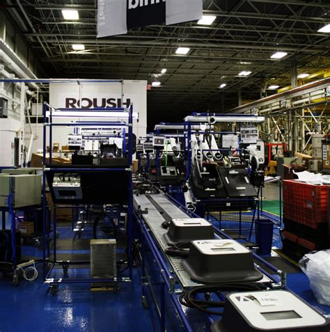 roush begins manufacturing blink charging stations