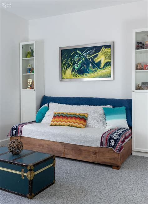 Bedroom Makeover Checklist by Diy Daybed How To Build A Daybed The Navage Patch