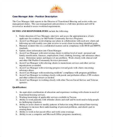 management description best resumes