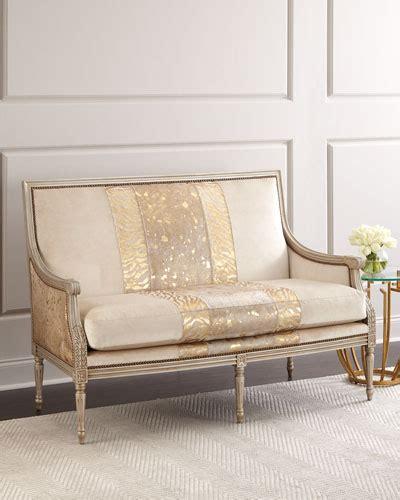 designer settees designer settees chaises at neiman horchow