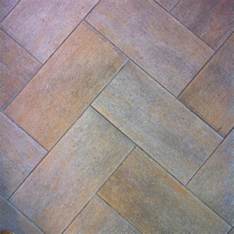 chevron floor tile pattern kitchen