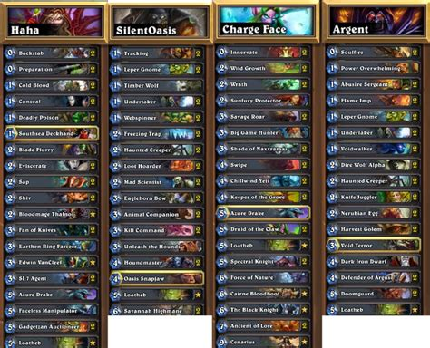 hearthstone deck list the hearthstone world chion has been crowned