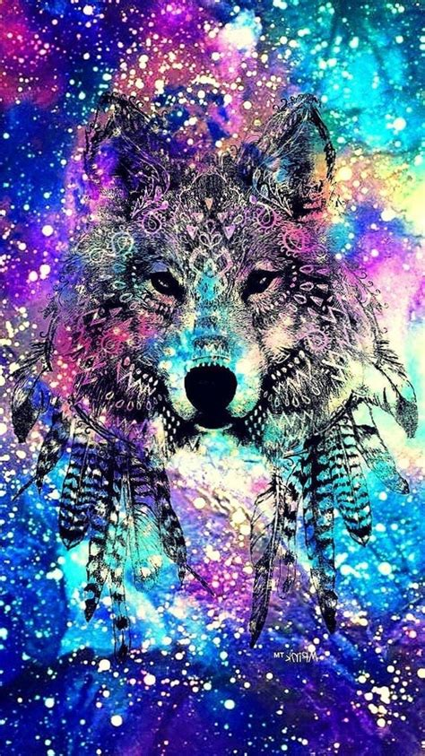 wolf wallpapers  galaxy wolf wallpaperspro