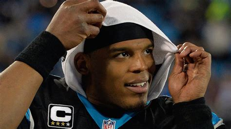 Cam Newton Wore A Huge Hat And Bleached Beard To His First