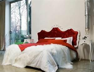 Lit Baroque Blanc : choisir une t te de lit en tissu avantages et conseils ~ Teatrodelosmanantiales.com Idées de Décoration