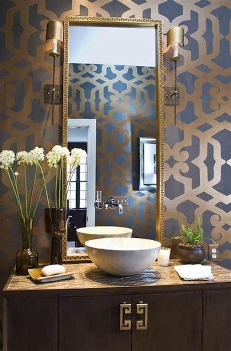 Decorating Ideas Powder Room by Best 25 Gold Powder Ideas On Bathroom